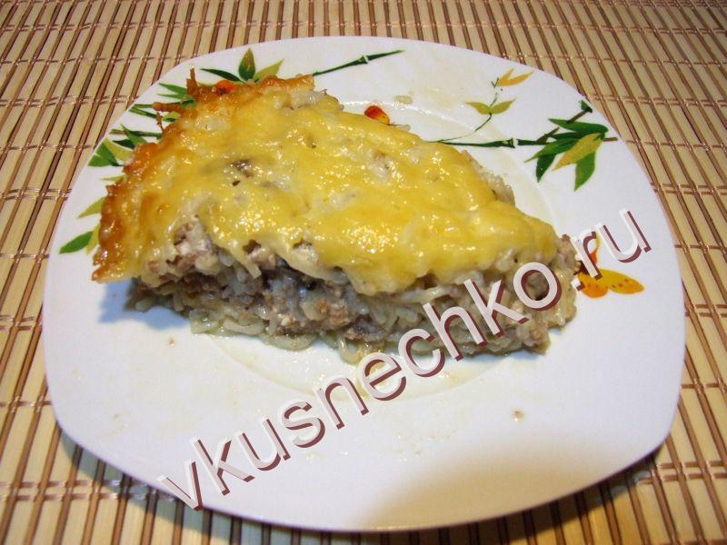 Запеканка из макарон с фаршем и сыром - пошаговый рецепт с фото 91