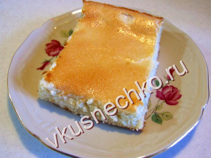 Пирог из творога пошаговый рецепт с фото