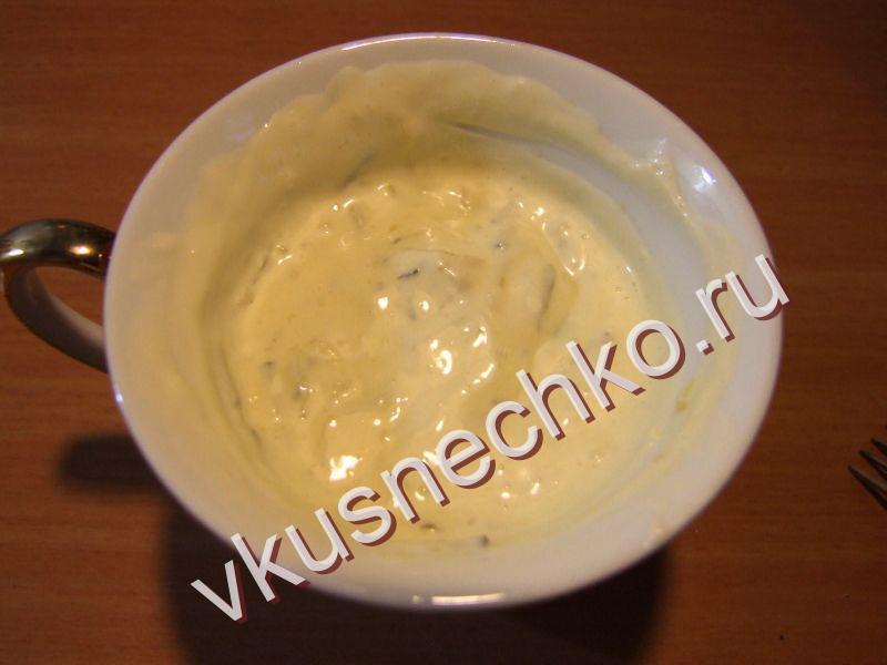 Как приготовить соус для картошки фри