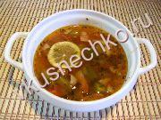 Харчо с зеленым ткемали, пошаговый рецепт с фото