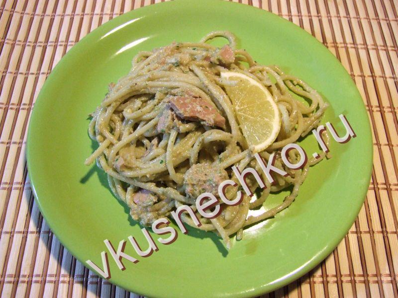 Рецепты пошагово спагетти