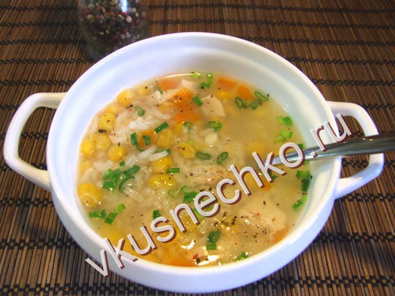 Рис с кукурузой рецепт с фото пошагово