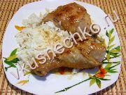 Курица в панировке с медовым маслом, пошаговый рецепт с фото