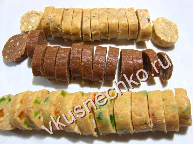 Пошаговый фото рецепт сладкой колбаски