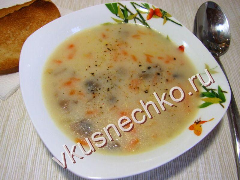 суп с манкой для ребенка рецепты