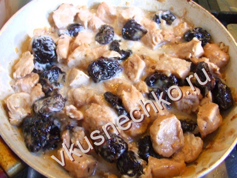 Тушеная индейка в сметане рецепт с пошагово