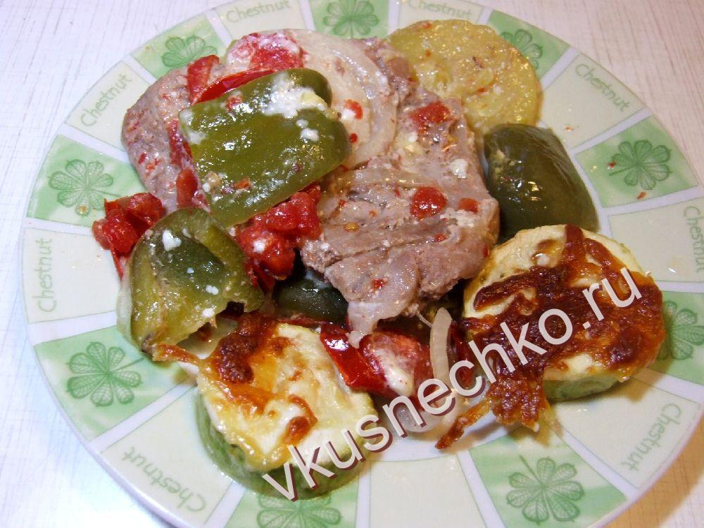 Свинина и кабачки рецепт пошагово