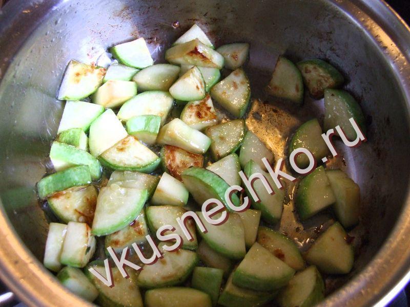 Рецепты с кабачком пошагово с